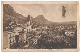 Meta Di Sorrento Basilica Pontificia Di S. Maria Del Lauro #Cartolina #Paesaggi - Napoli (Naples)