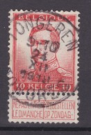 N° 123 : TONGEREN TONGRES  Obliteration 1910 - 1912 Pellens