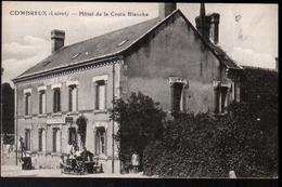 45, Combreux, Hotel De La Croix Blanche - France