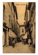 RAVENNA VIA CAIROLI  1917  FRANCOBOLLO PRO CROCE ROSSA - Ravenna