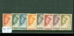 SURINAME SERIE 167 - 174 ONGEBRUIKT MET PLAKKERREST - Suriname ... - 1975
