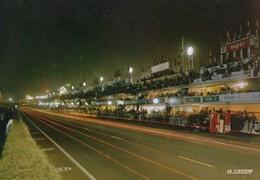 72 . LE MANS . CIRCUIT DES 24 HEURES . Les Stands La Nuit - La Cigogne 72.181.88 - Le Mans