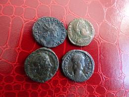 LOT 4 BELLES ROMAINES - Monnaies