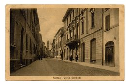 FAENZA  CORSO GARIBALDI      1916 - Faenza