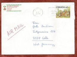 Luftpost, Strassenzug Ontario, Barrie Nach Celle 1982 (73085) - 1952-.... Règne D'Elizabeth II