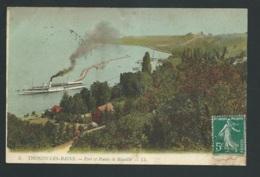 Thonon Les Bains - Port Et Pointe De Ripaille    Mbc98 - Thonon-les-Bains