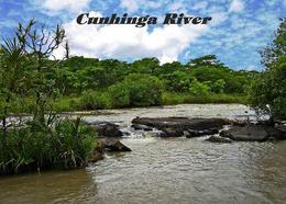 Angola Cunhinga River New Postcard - Angola