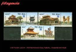ASIA. VIETNAM MINT. 2004 PATRIMONIO CULTURAL. ANTIGUA CIUDAD DE HUE - Vietnam