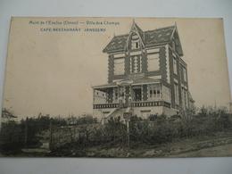 Orroir Villa Des Champs Café Restaurant 1920 - Mont-de-l'Enclus