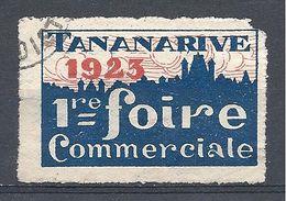 Vignette De La 1ère Foire Commerciale De Tananarive En 1923 - Commemorative Labels