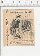 Presse 1911 Humour Métier Cocher Nom Des Rues De Paris 51D20 - Vieux Papiers