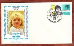 FDC, Jahr Des Kindes, Bruxelles Brussel 1979 (73089) - 1971-80