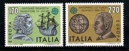 Italia  1980 - EUROPA Yv. 1418/1419**,   MNH  Cat. € 2,00 - 6. 1946-.. República