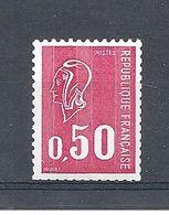 FRANCE MARIANNE DE BEQUET N° 1664b NUMERO ROUGE Au Verso - 1971-76 Marianne Of Béquet