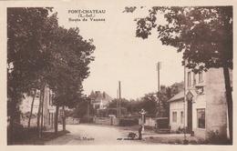 44--PONT CHATEAU-ROUTE DE VANNES-VOIR SCANNER - Altri Comuni