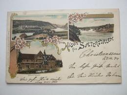 SAETERSDALEN ,  Schöne Karte 1899 - Norwegen