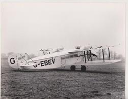 BRISTOL TEN SEATER 22 * 16 CM Aviation, AIRPLAIN, AVION AIRCRAFT - Aviación