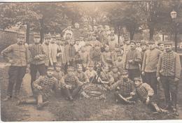 Engages Volontaires  1er Chasseurs Pour La Guerre  1914 - Carte Photo - War 1914-18
