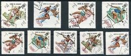 OLYMPIC MEXICO 1968. UMM AL-QIWAIN 1969 MICHEL 264 A / 272 A COMPLETE SERIE OBLITERES - LILHU - Verano 1968: México