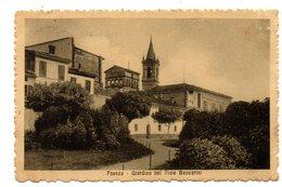 FAENZA  GIARDINO NEL VIALE BACCARINI    1916 - Faenza