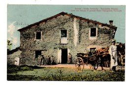 FAENZA  FONDO TORRICELLA PARROCCHIA PIDEVRA  CASA OVE NACQUE IL GRANDE FISICO EVANGELISTA TORRICELLI  1916 - Faenza