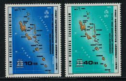 New Hebrides // 1960-1980 // 1979 //  Assemblée Représentative Timbres Neufs** MNH No. Y&T 551-552 - Légende Anglaise