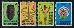 New Hebrides // 1960-1980 // 1979 //  Festival Des Arts Timbres Neufs** MNH No. Y&T 563-566 - Légende Anglaise