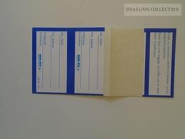 ZA140.10  Hungary MALÉV  Baggage Labels Ca 1980 - Baggage Labels & Tags