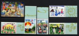 TRANSNISTRIE TRANSNISTRIA 1998, TABLEAUX D'ENFANTS, 5 Valeurs Et 1 Bloc, Neufs / Mint. Rdni481 - Moldavie