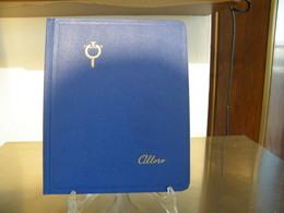 MONDOSORPRESA, (ABLN°2) RACCOGLITORE USATO, CLASSIFICATORE FRANCOBOLLI ALLORO, 10 PAGINE, SFONDO BIANCO - Stockbooks