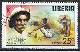 LIBERIA 1 // YVERT 683 // ALBERT SCHWEITZER // 1975 - Liberia