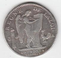 Ecu De 6 Livres 1792 A - 1789-1795 Monnaies Constitutionnelles