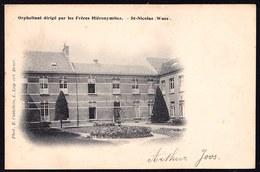 SINT NIKLAAS WAAS - WEESHUIS VAN PATERS HIERONYMITES - Niet Courant ! Orphelinat Par Les Frères - Sint-Niklaas