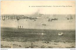 85 ILE DE NOIRMOUTIER. Plage Des Dames. Petite Coupure - Ile De Noirmoutier