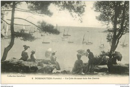 85 ILE DE NOIRMOUTIER. . Coin De Sous Bois Pour Des Dames. Impeccable Et Vierge - Ile De Noirmoutier