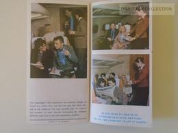 ZA142.1  Hungary MALÉV Hungarian  Airlines  Comfort  Advertising Brochure TU154 TU134  Ca 1980 - Advertisements