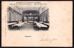 SINT NIKLAAS WAAS - WEESHUIS VAN PATERS HIERONYMITES - EETZAAL - Niet Courant ! Orphelinat Par Les Frères - Sint-Niklaas