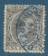 Timbre Espagne 1899 ALFONSO XIII - Oblitérés