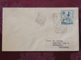 Hungary 1962 FDC Cover Budapest To Holland - Esperanto Congress Of Railway - Hungary