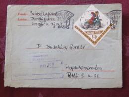 Hungary 1963 Cover Budapest (ORION Slogan) To Petofi - Motorcycle - Hungary