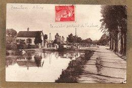 CPA - BEAULON (03) - Aspect Du Quartier De L'écluse En 1952 - France