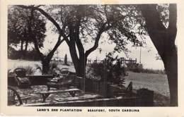 USA Etats Unis ( SC South Carolina ) BEAUFORT : Land's End Plantation - CPSM Photo Format CPA 1958 - - Beaufort