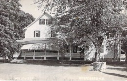 ** Real Photo / Carte Photo ** USA Etats Unis ( NH New Hampshire ) WOLFEBORO Wellsweep - Format CPA 1952 - - Etats-Unis