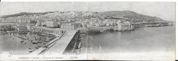 Algérie PANORAMA  D'ALGER Vue Prise De L'Amirauté (Carte Double Panoramique Editions ND Phot N°1449)* PRIX FIXE - Alger