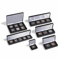 NOBILE Coin Etui For 6 QUADRUM Mini Capsules, Black - Supplies And Equipment