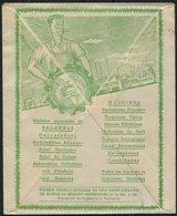 Argentina Bianchi Legitima, Rosario Illustrated Advertising Cover - Max Lucher, Switzerland - Argentine
