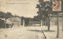 Marseille Entree Du Jardin Du Pharo - Parcs Et Jardins