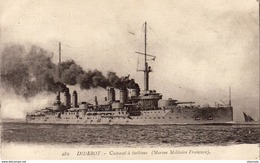 DIDEROT  Croiseur à Turbines - Warships