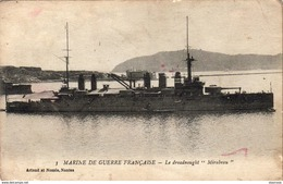MARINE DE GUERRE Dreanougth MIRABEAU - Warships