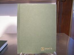 MONDOSORPRESA, (ABLN°13) RACCOGLITORE USATO, CLASSIFICATORE FRANCOBOLLI ABAFIL SPRINT 12, 12 PAGINE, SFONDO BIANCO - Stockbooks